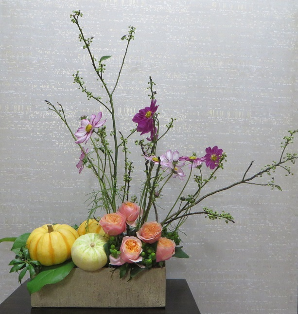 今週の花「HAPPYHalloween」