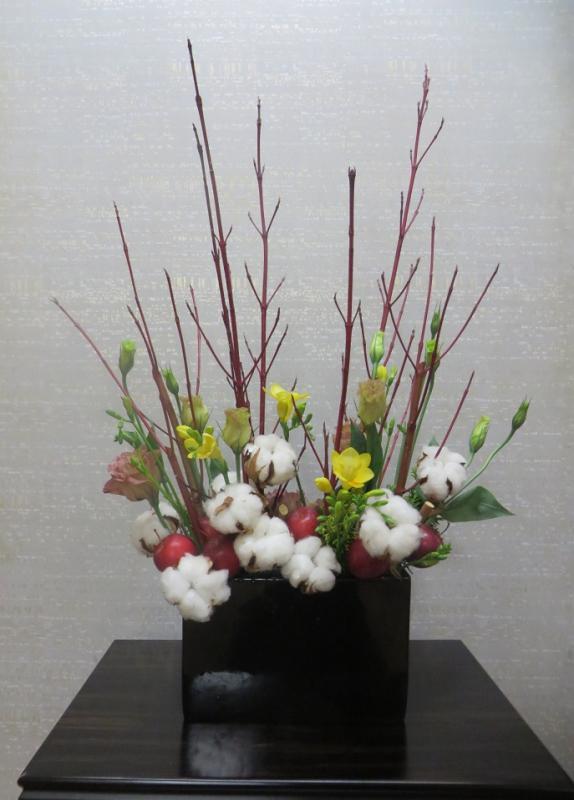 今週の花「初雪」