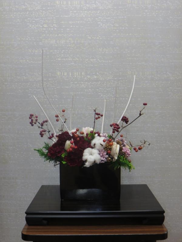 今週の花「ホワイトクリスマス」