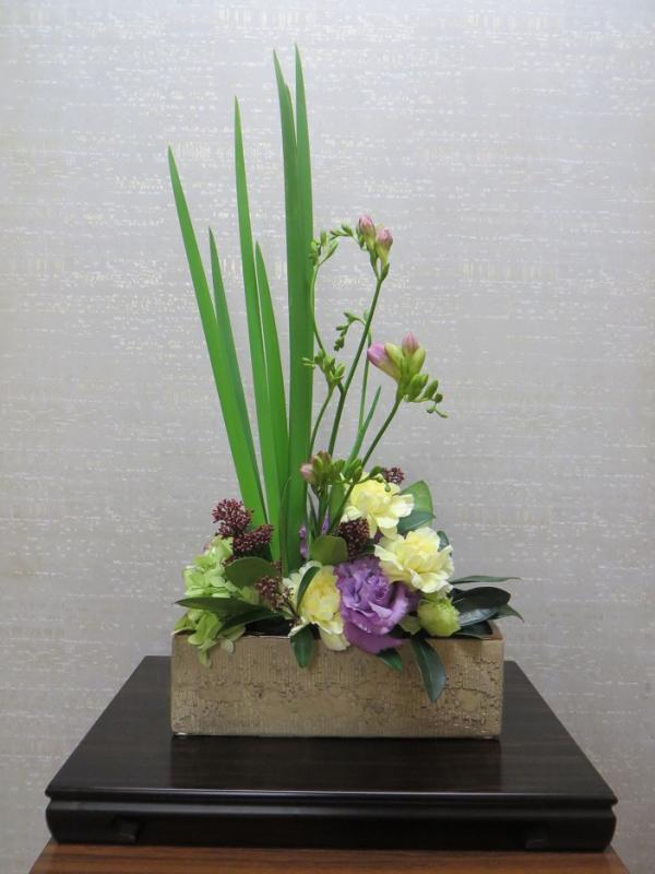 今週の花「旅立ち」