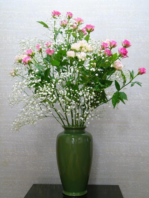 今週の花「花を飾ろう」