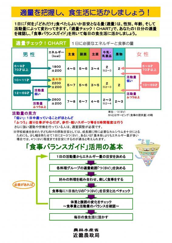 食事バランスガイドパネル(その3)