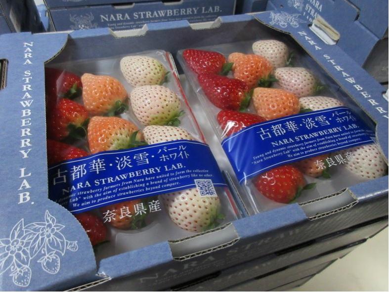 世界へこだわりのいちごを届ける|奈良県