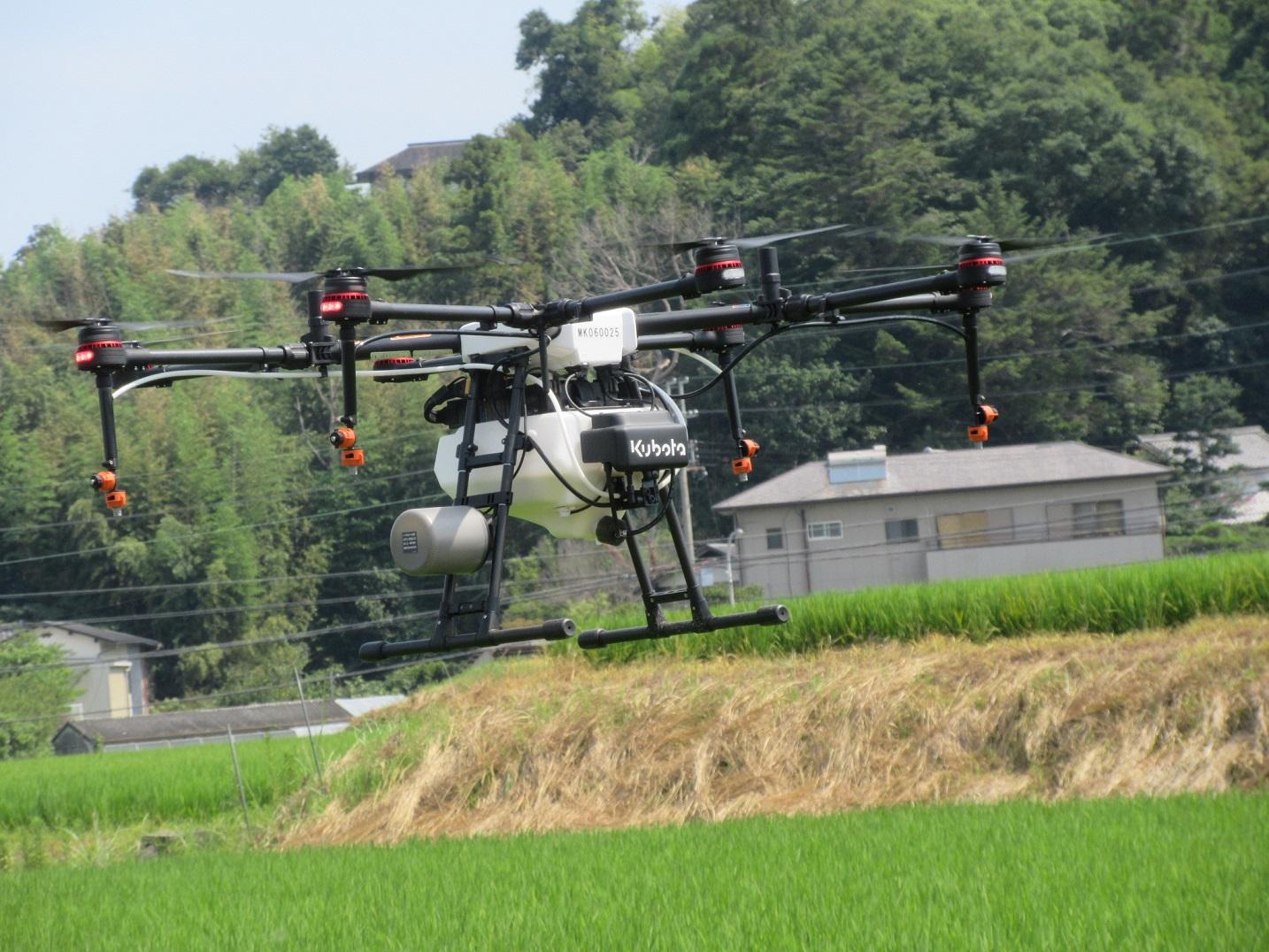 大阪初!ドローンを使用したスマート農業|大阪府堺市
