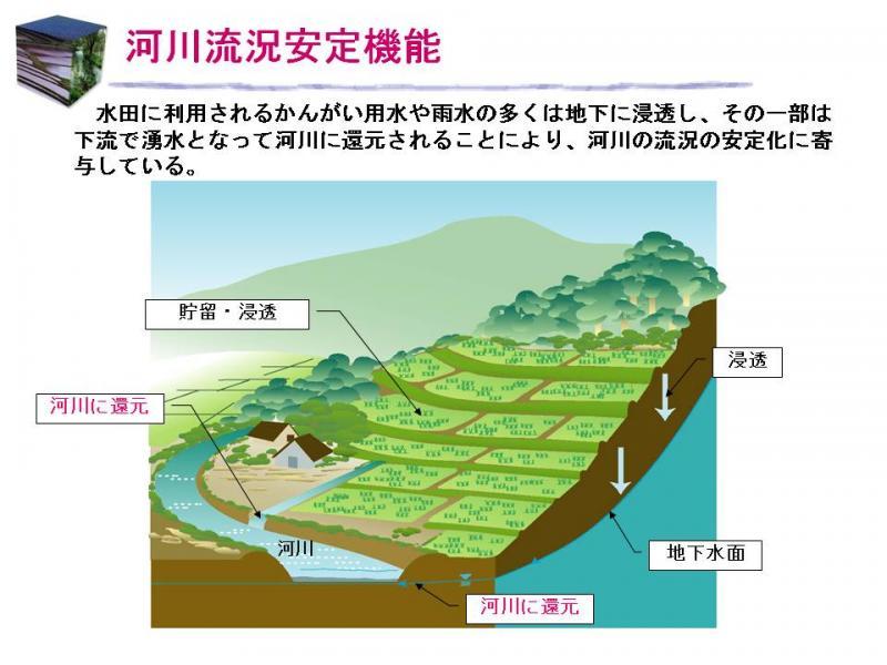 河川流況安定