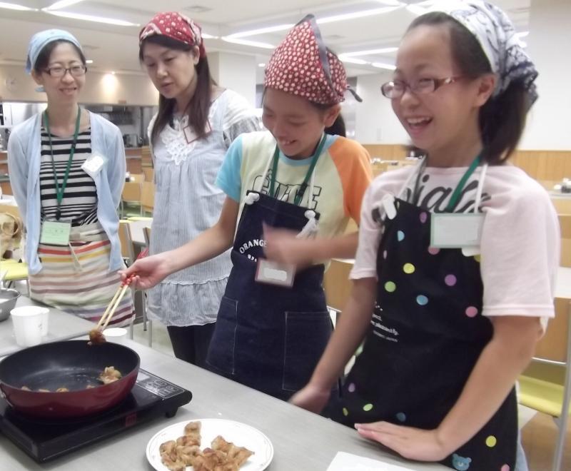 料理教室の様子(その1)