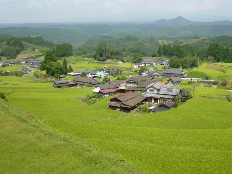 食と農の交流会棚田の集いin山都町(山都町菅地区の棚田)