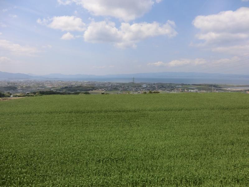 長崎県大村市の風景です。