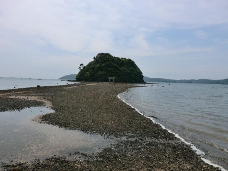 長崎県壱岐市の大潮干潮時です。