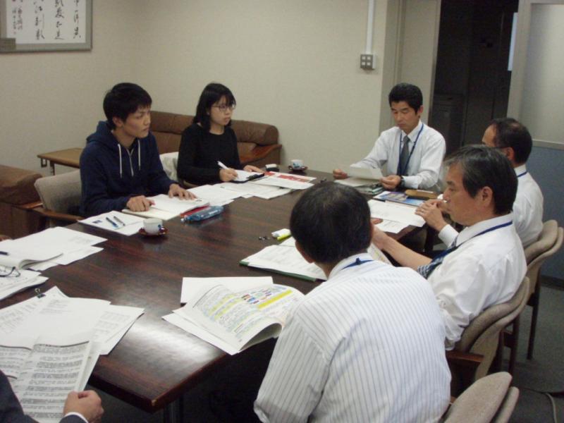 九州大学農学部生との意見交換