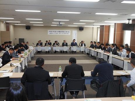 九州農政局長と語る会の模様
