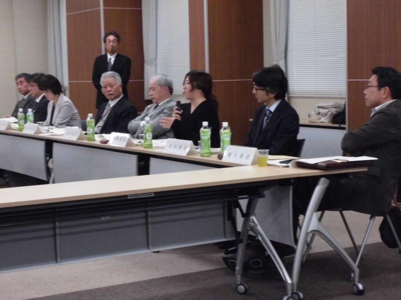会議に参加された委員の方々
