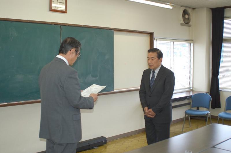 福岡で総合化事業計画認定証手交の様子
