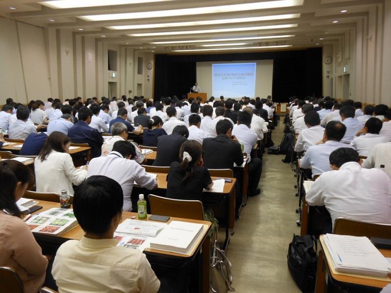 輸出力強化戦略九州ブロック説明会の様子