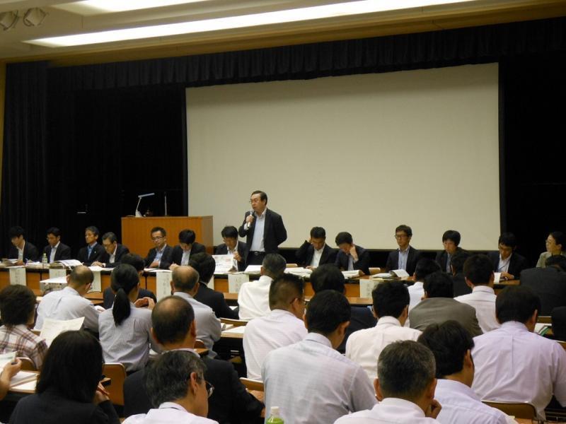 九州ブロック説明会での質疑応答の様子
