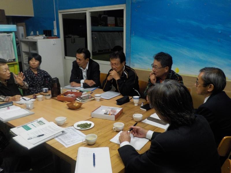 九州薬用作物推進協議会との意見交換の様子