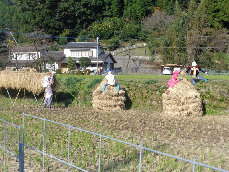 佐賀のかかし祭りの風景1