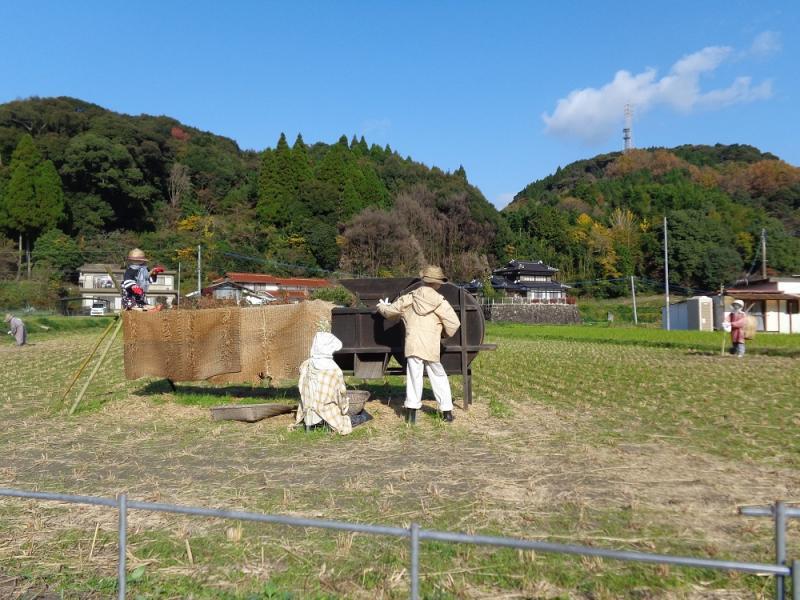 佐賀のかかし祭りの風景2