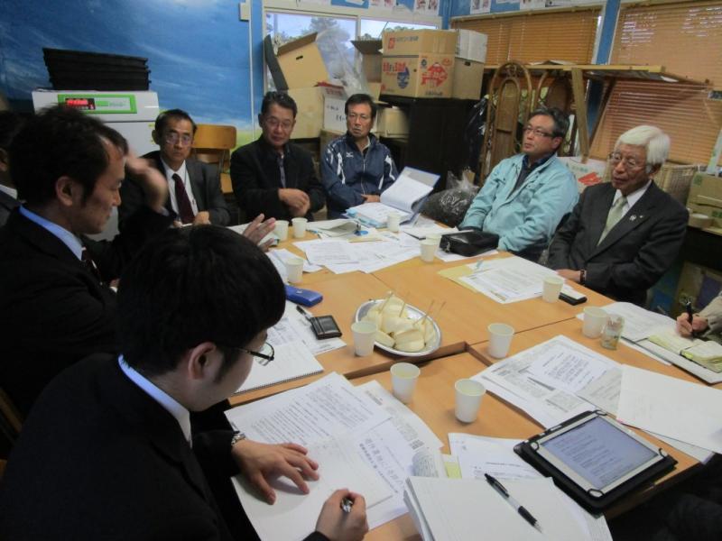 九州薬用作物推進協議会の方との意見交換