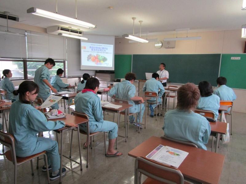 福岡県農業大学校へ講師派遣