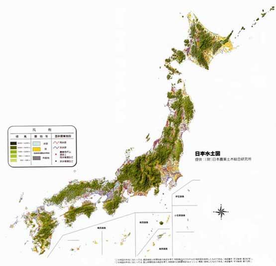 日本水土図