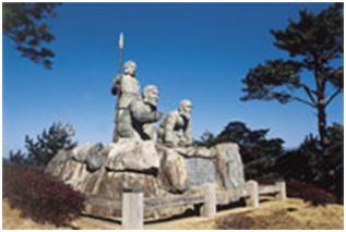 ニニギノミコト像
