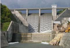 輝北ダムの新設(曽於南部農業水利事業)