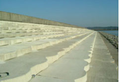 堤防の改修(有明海岸保全事業)