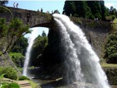 通潤橋(熊本県山部町)