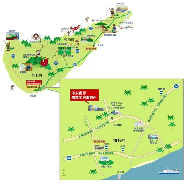 事業所周辺地図