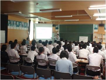 2011年10月19日知名町立知名中学校1