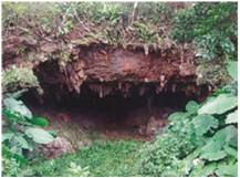 中甫(なかふ)洞窟遺跡(縄文時代)