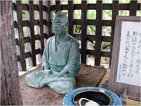 南洲神社の西郷隆盛像