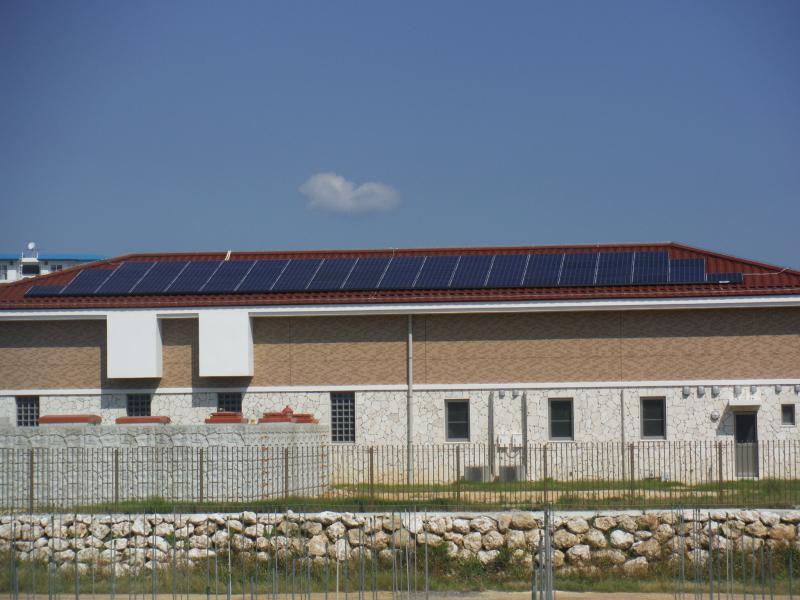 太陽光発電施設の建設①