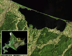 北海道サロマ湖