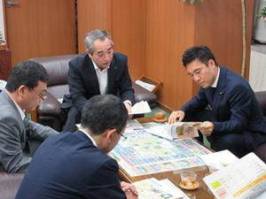 福島県畠副知事との意見交換