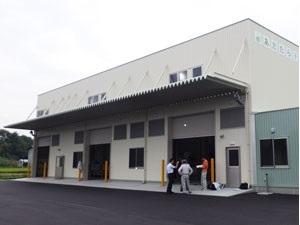 新しく完成したライスセンター