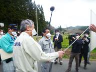 岩本農林水産副大臣の東日本大震災に伴う被害・対策状況の福島県内視察