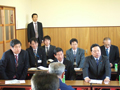 東日本大震災からの復興に取り組む農業生産法人(有限会社アグリードなるせ)と懇談