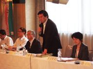 東北農政局長と報道機関との懇談会1