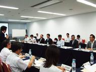 復興支援と6次産業化に係る東北農政局長と市町村長との懇談会