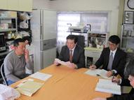青森県内6次産業化認定事業者との意見交換(奈良勝雄氏)