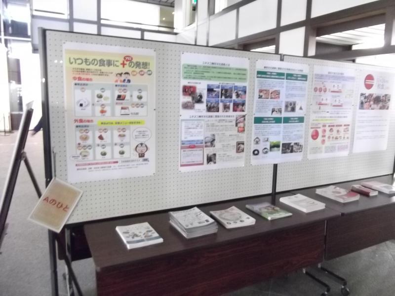 高山市役所における展示