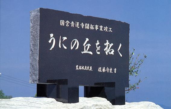 国営青蓮寺地区
