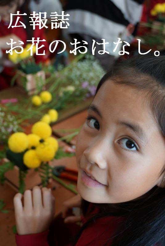 お花のおはなし。