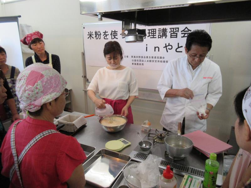 講師の萩田先生と石井先生