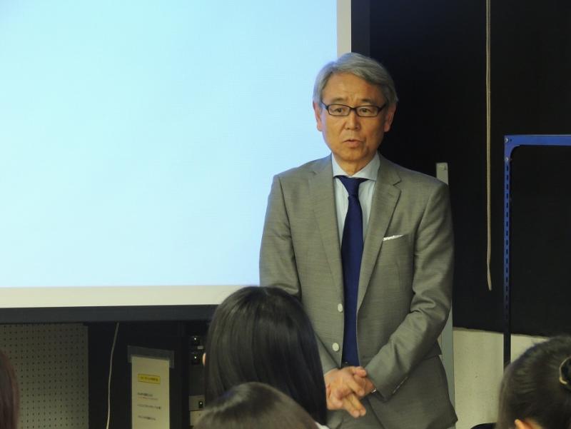 岐阜大学応用生物科学部前澤教授からの閉会挨拶