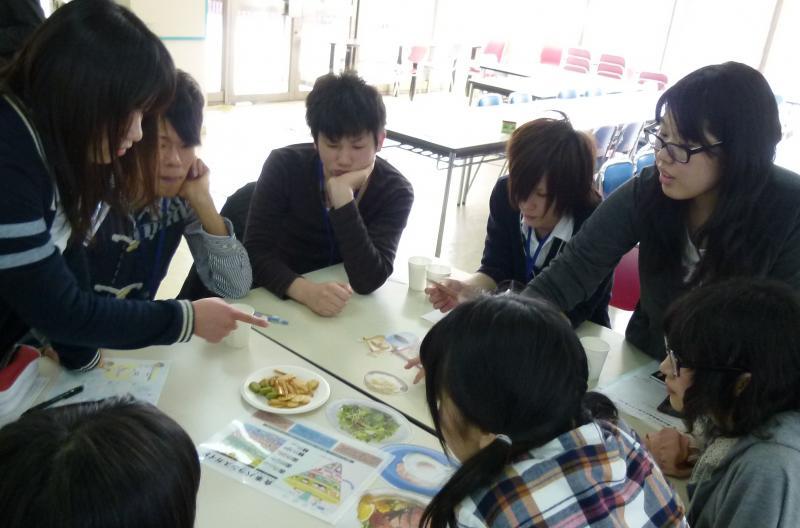 生協学生委員会SKY主催「ひとくら会で食事バランスを学ぼう!」