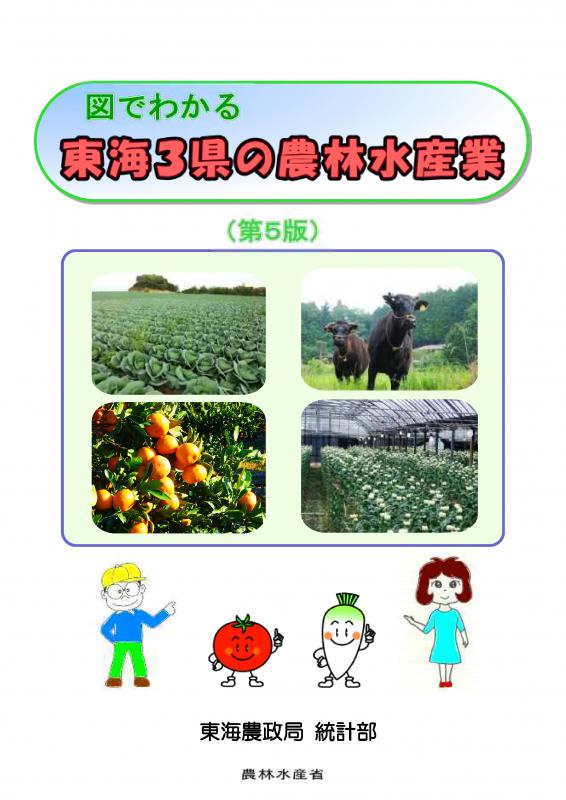 図でわかる東海3県の農林水産業